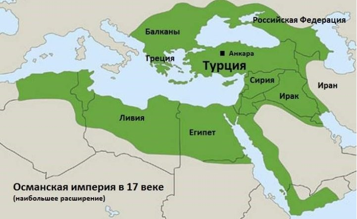 Османская Империя в 17 веке