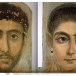 Римские портреты внутри египетских захоронений
