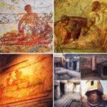 Рисунки на стенах Римских Барделей