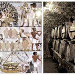Древние египетские винные погреба