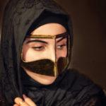 Зачем арабки носят стальную маску