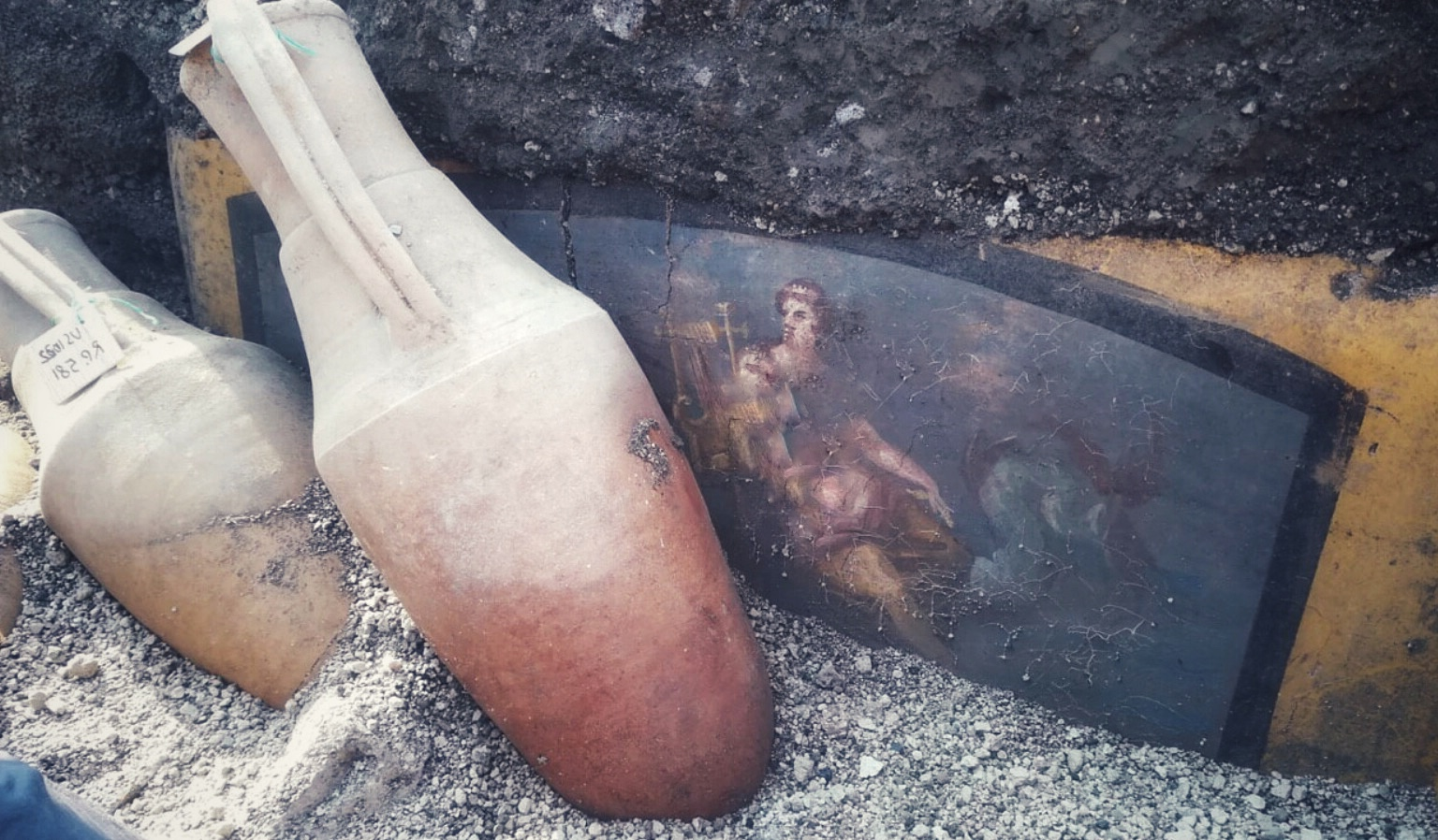 В Помеях открыли древний Фастфуд