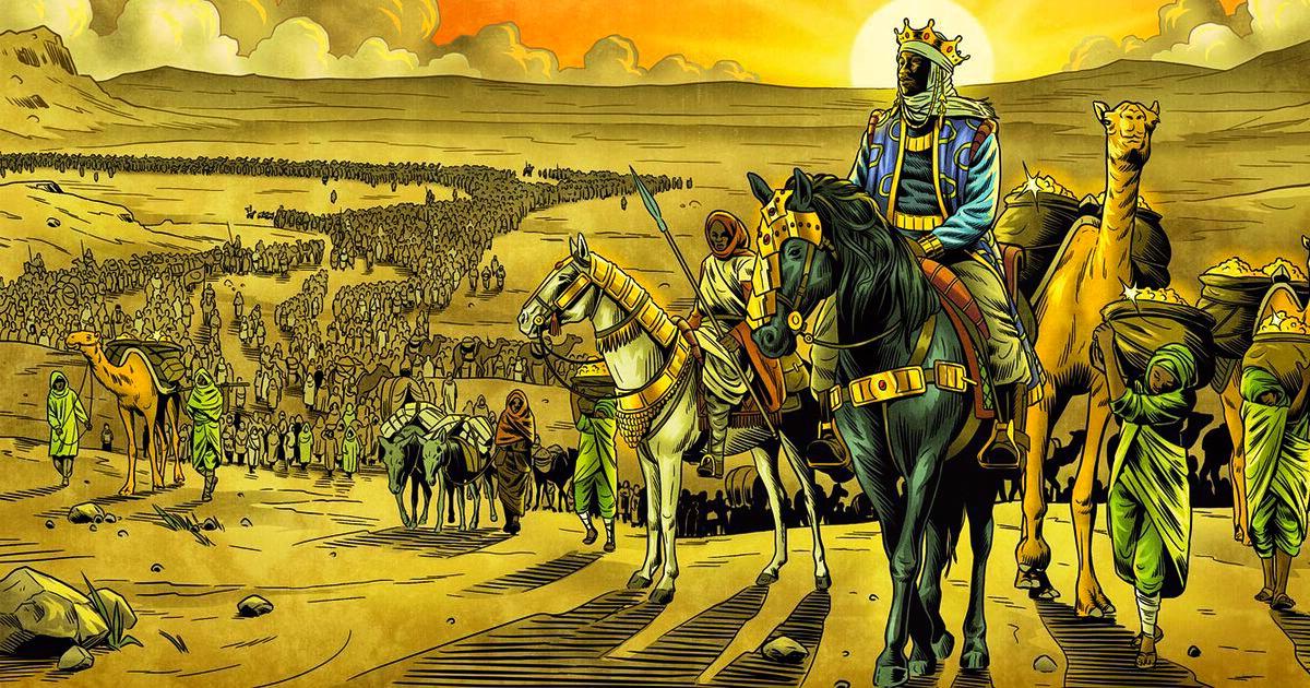Дорогой гость: Манса Муса и развал египетской экономики по пути в Мекку.