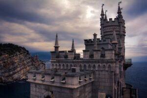 Неоготический замок Ялта