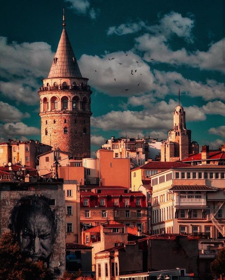 Район Галаты 2 стамбул
