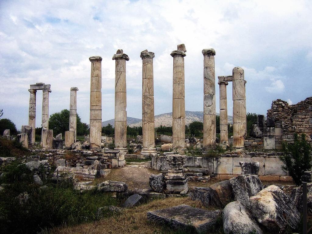 Храм Афродиты Памуккале
