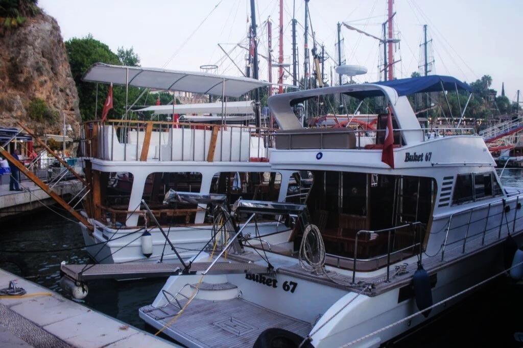 Прогулка на Яхте по Анталии 3
