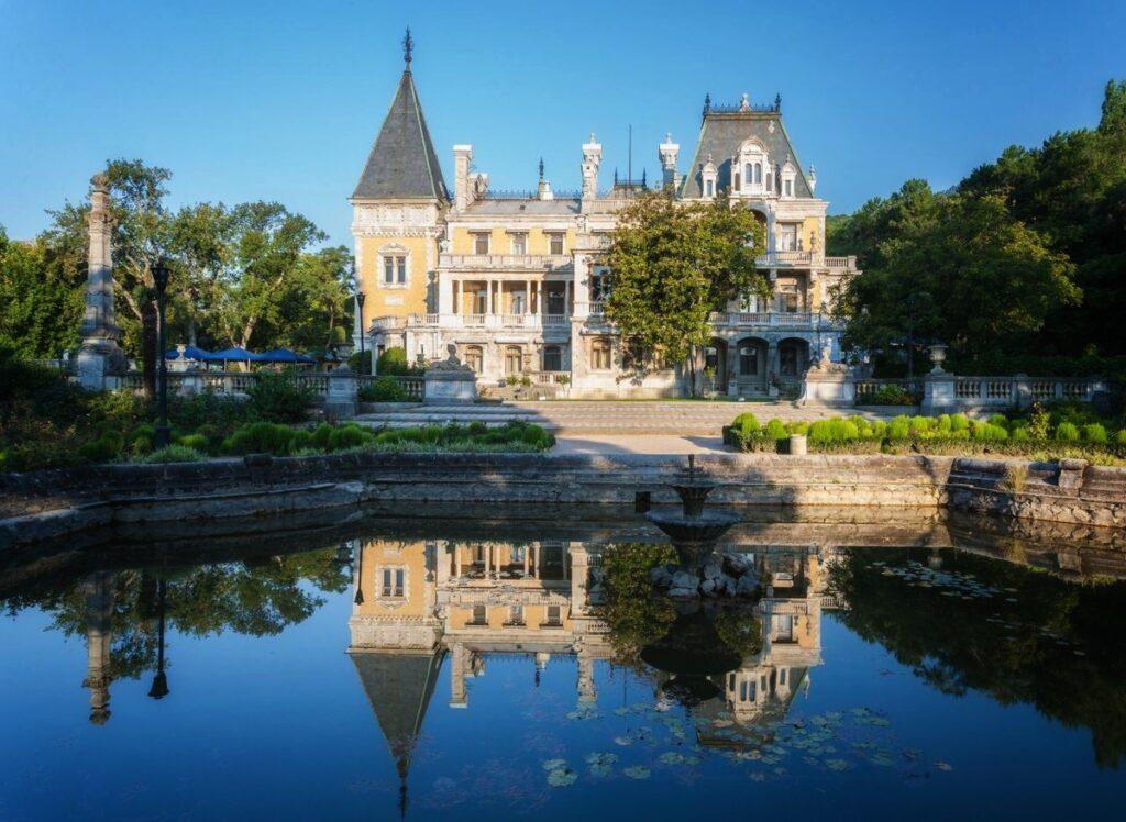 Ялта Массандровский дворец