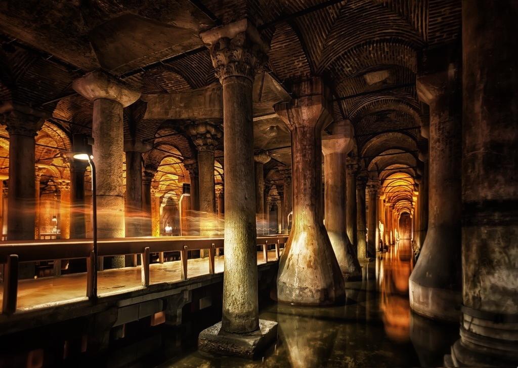 Цистерна Базилика Стамбул 1