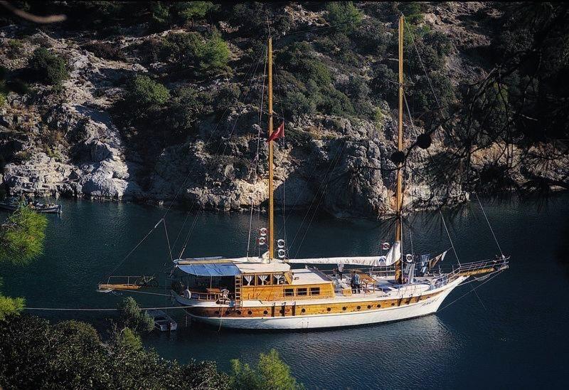 Прогулка на Яхте по Анталии 1