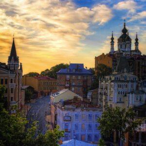 Утро в Киеве