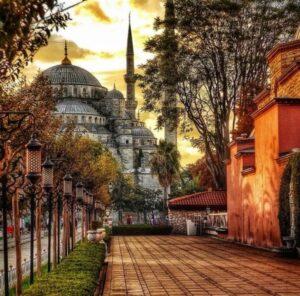 Турция зимой и осенью 3