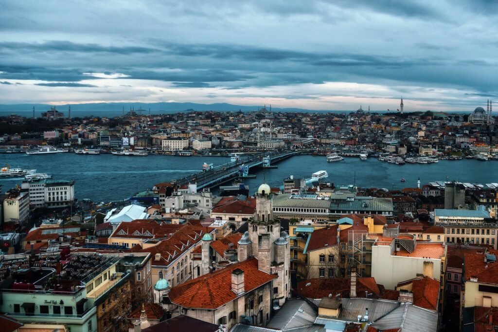 Бухта Золотой Рог 1 Стамбул