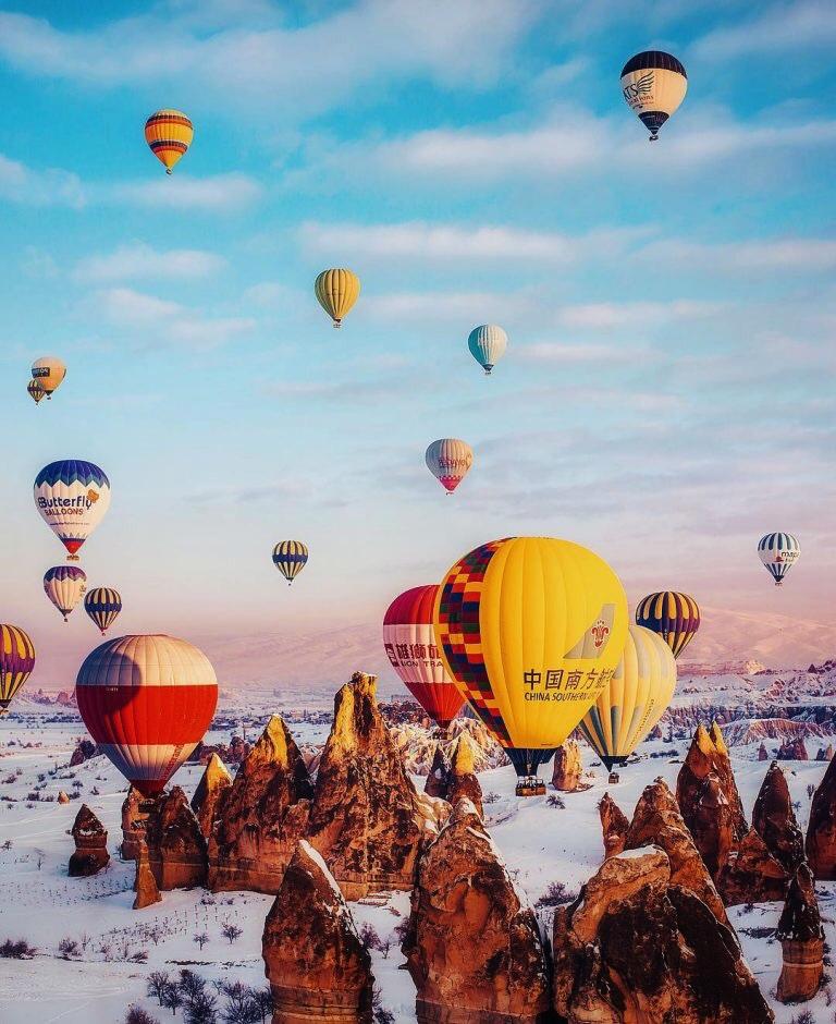 Полёт на воздушных шарах в Каппадокии 5