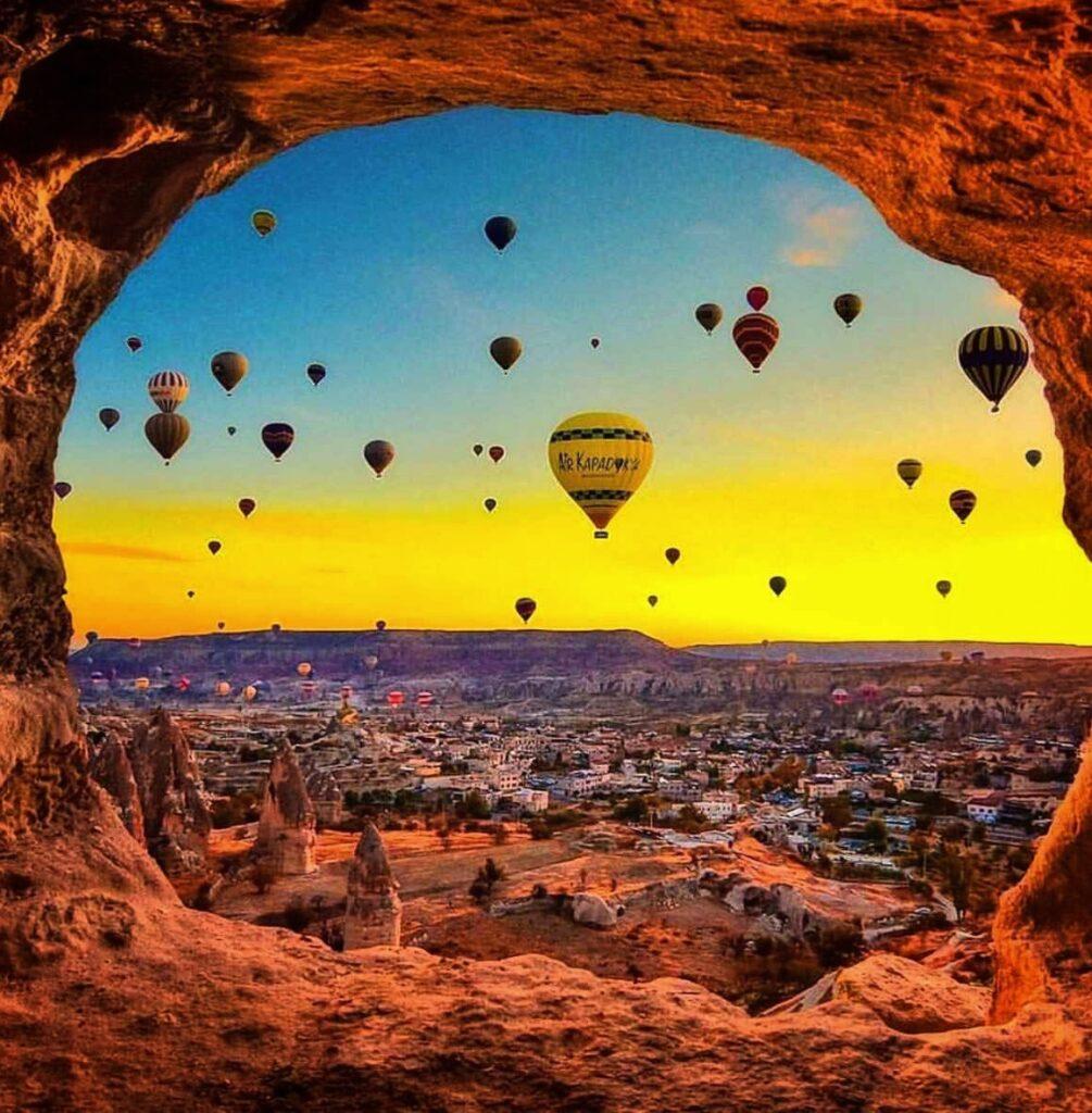 Полёт на воздушных шарах в Каппадокии 2