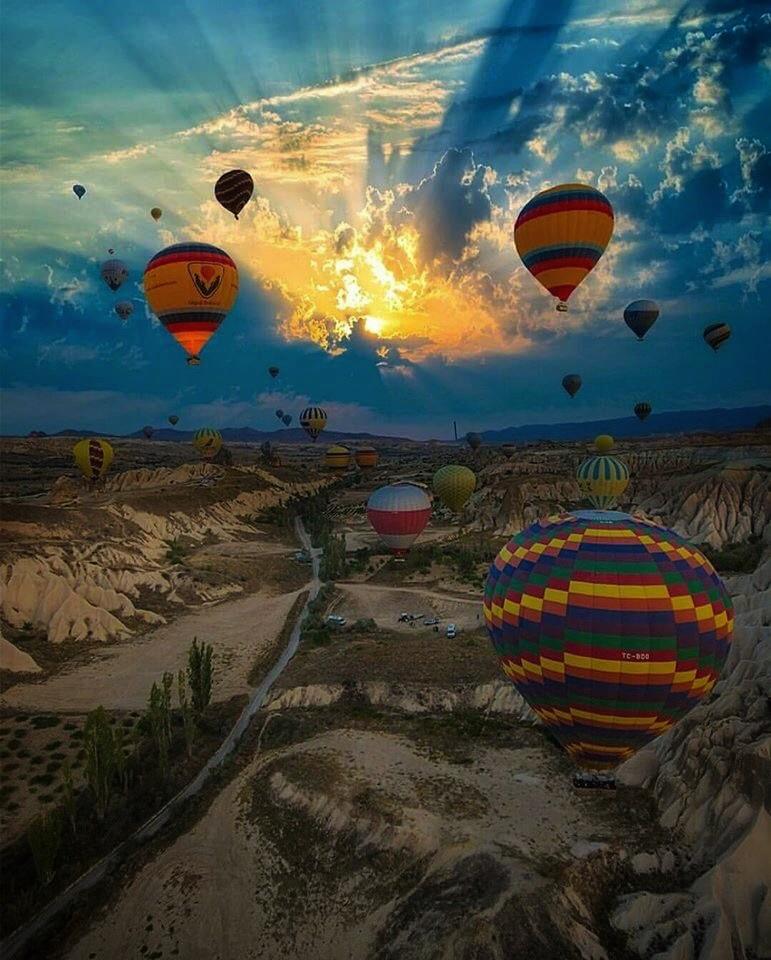 Полёт на воздушных шарах в Каппадокии 3