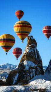 Полёт на воздушных шарах в Каппадокии 4