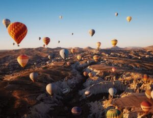 Полёт на воздушных шарах в Каппадокии 1