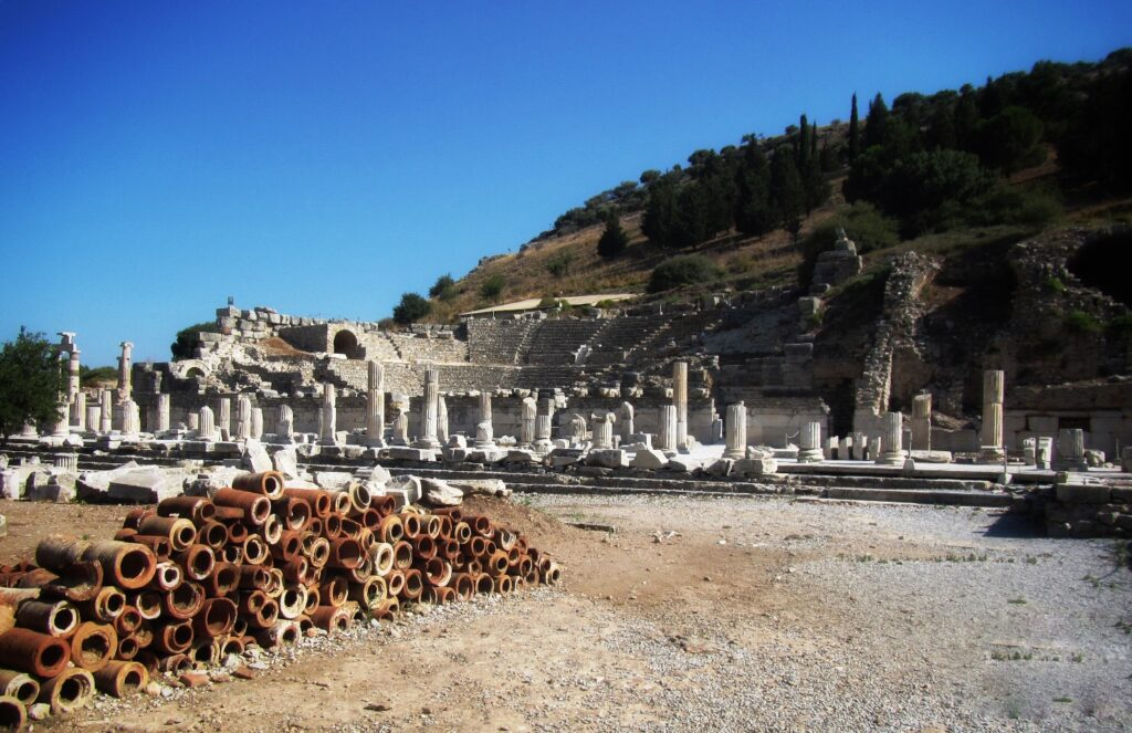 Государственная Агора в Эфесе 2