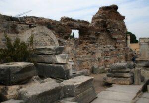 Руины борделя в Эфесе 2