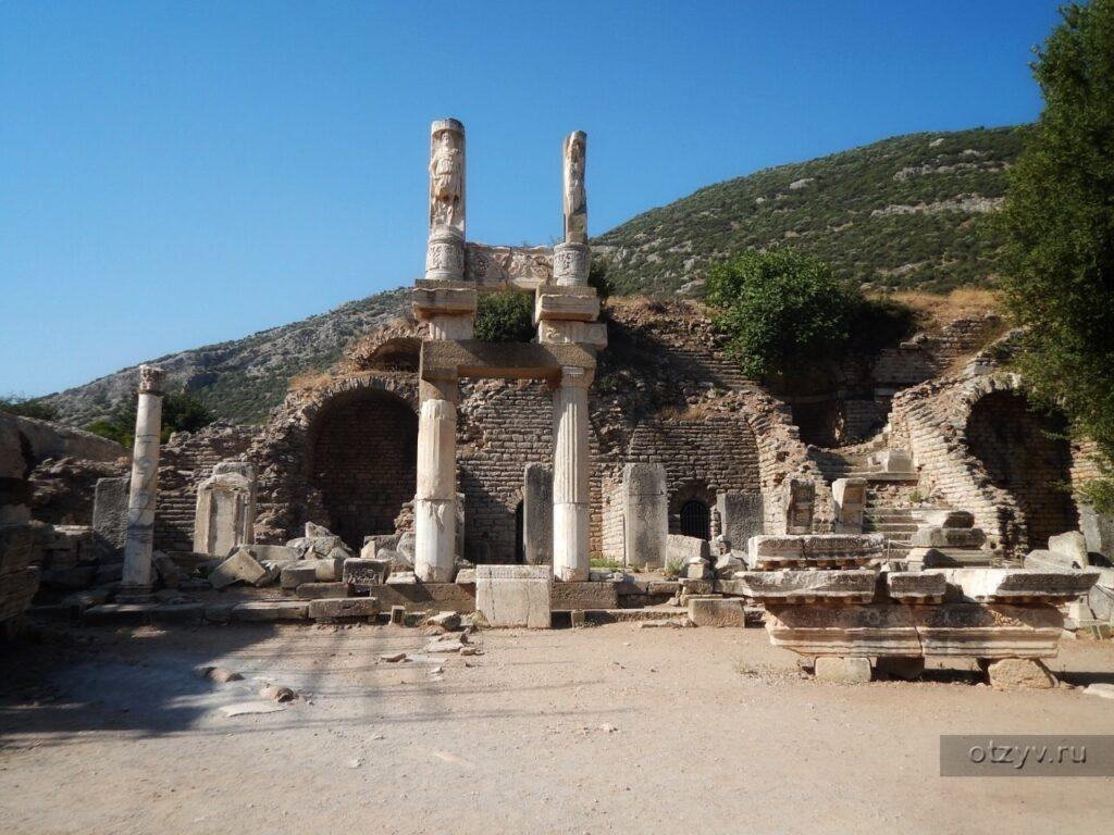 Ванны Вариуса в Эфесе 2