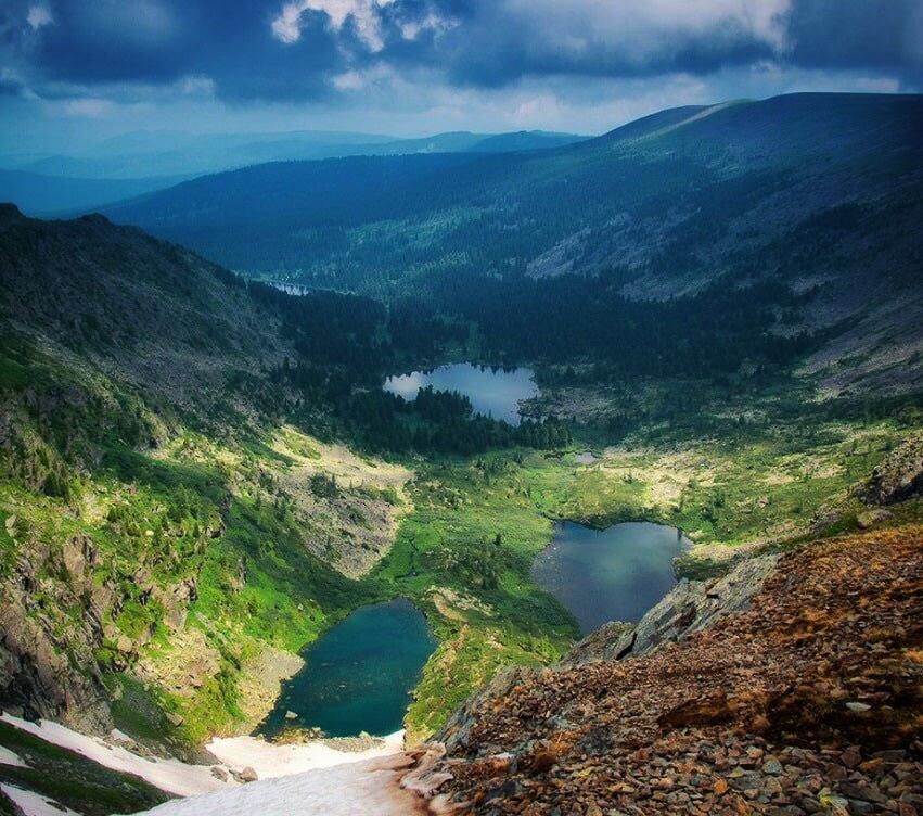 Озера Каракол