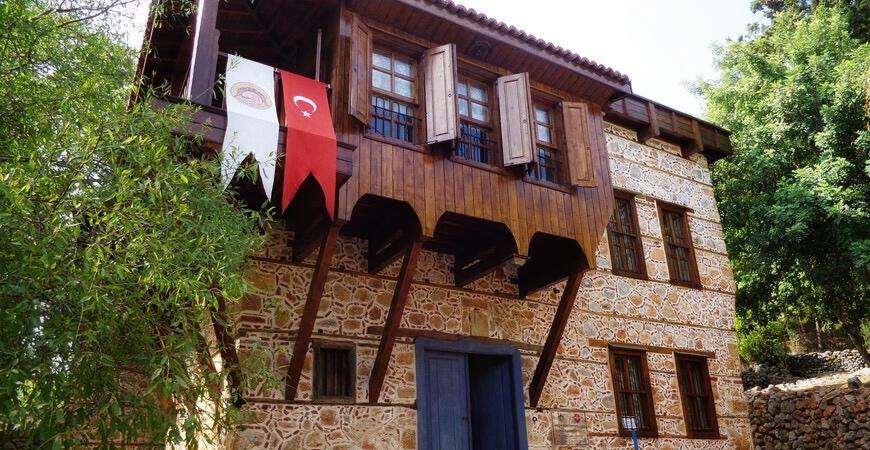 Традиционные дома Турции 6