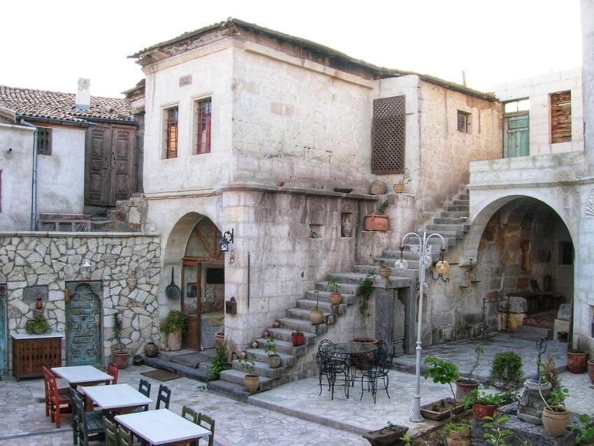 Традиционные дома Турции