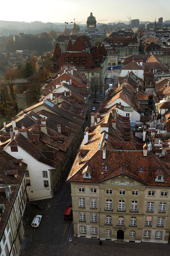 Старый город Берна швейцария