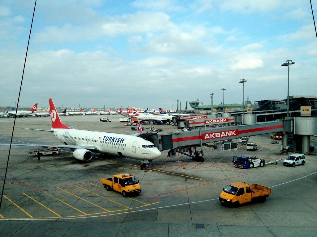 Аэропорту турции