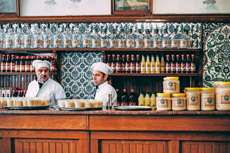 Салеп 6 турецких напитков Боза