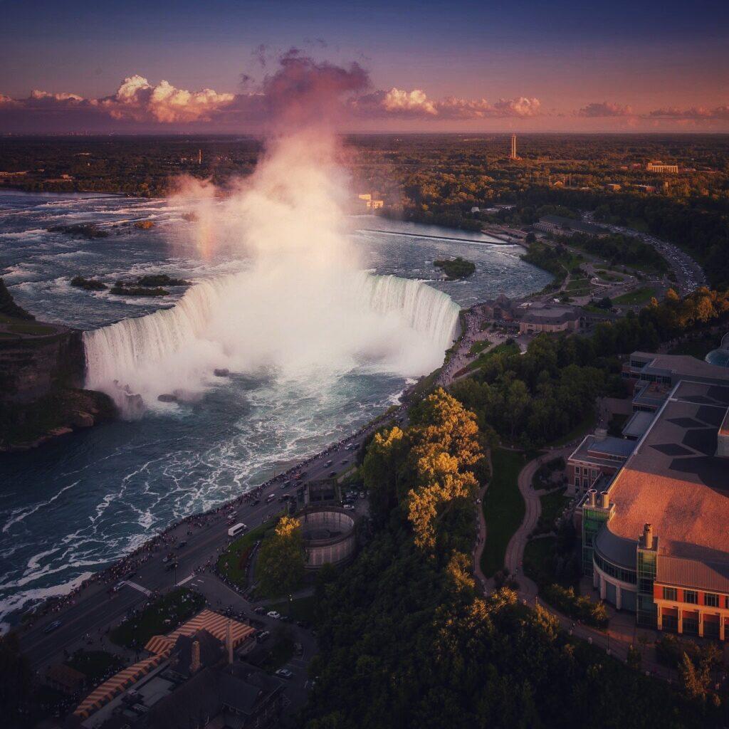 Ниагарский водопад 1
