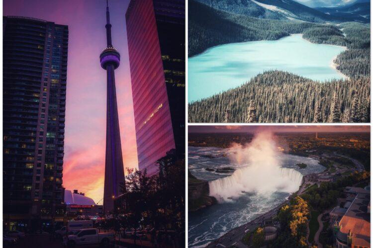 Популярные места Канады