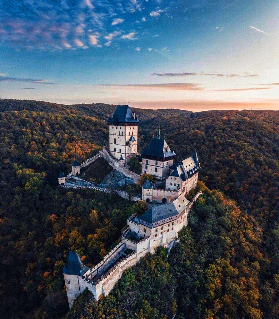 Замок Карлштейн Чехия